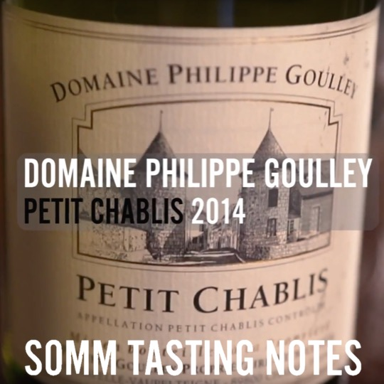 Philippe Goulley Petit Chablis