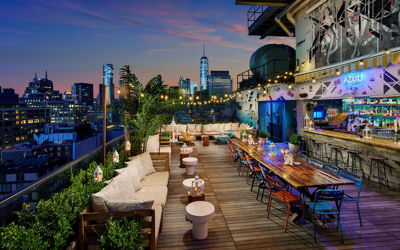 The Best Rooftop Bars in NYC - Wine4Food on Backyard Bar With Roof id=11643