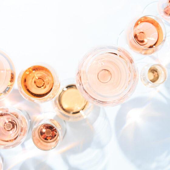 Many Varieties Of Rose Wine