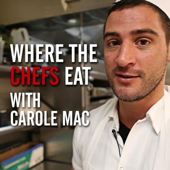 Where The Chefs Eat - Anthony Sasso, La Sirena