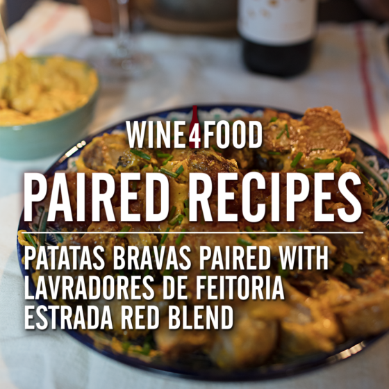 Paired Recipe - Patatas Bravas