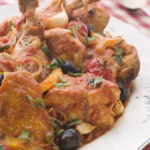 Chicken Provencal with Jerusalem Artichokes