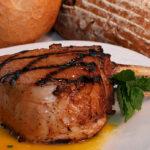 Miso Curry Glazed Grilled Pork Chops - Wine4Food
