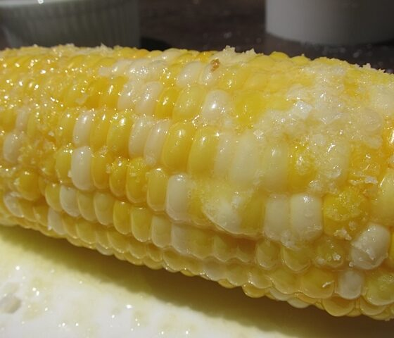 Corn with butter - Wine4Food